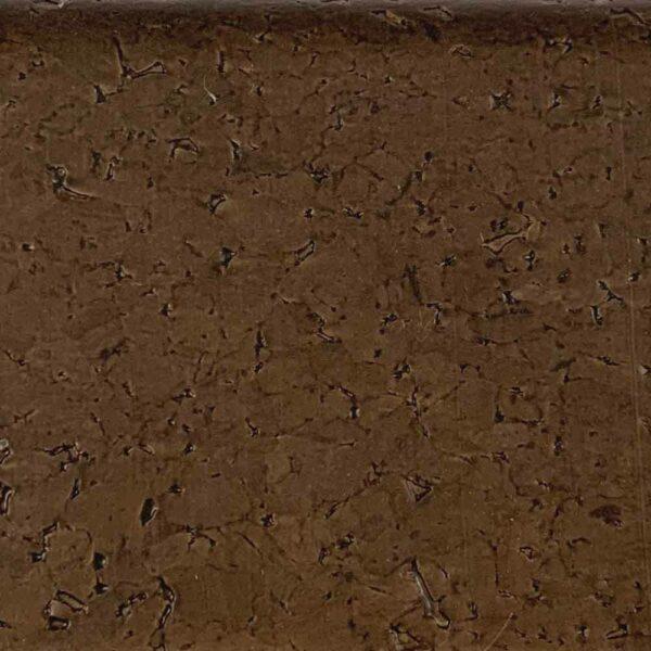 Плинтус МДФ 15х80х2400 мм, пробковый шпон темный