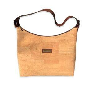 сумка из пробкового текстиля и кожи картинка