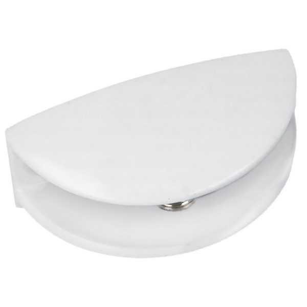 Подставки для стеклянных полок никель (20/200)