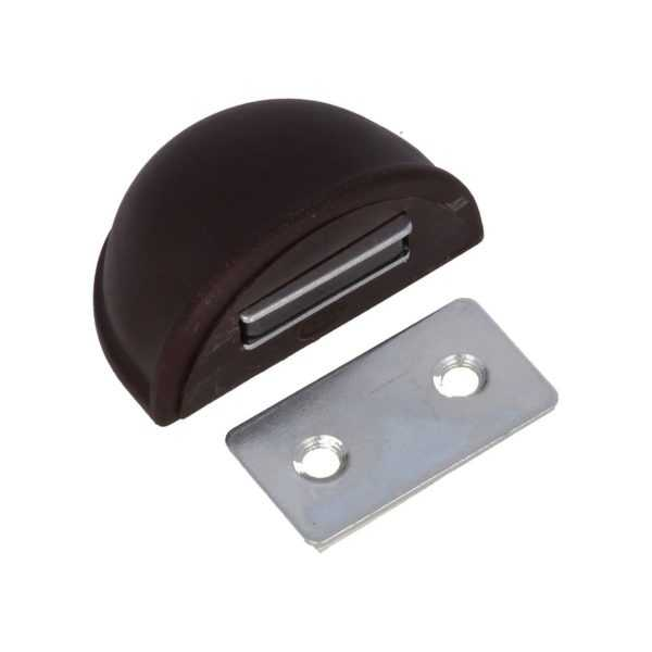 Стопор магнитный на клеевой основе коричневый (20/200)