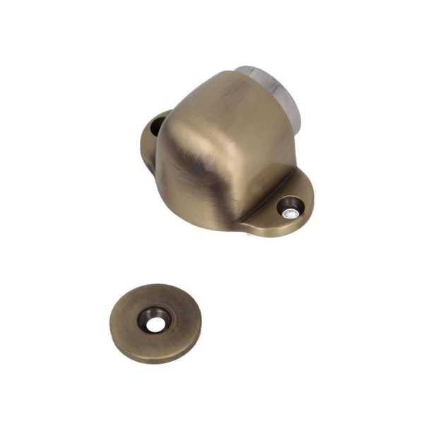 Стопор дверной магнитный никель (10/100)