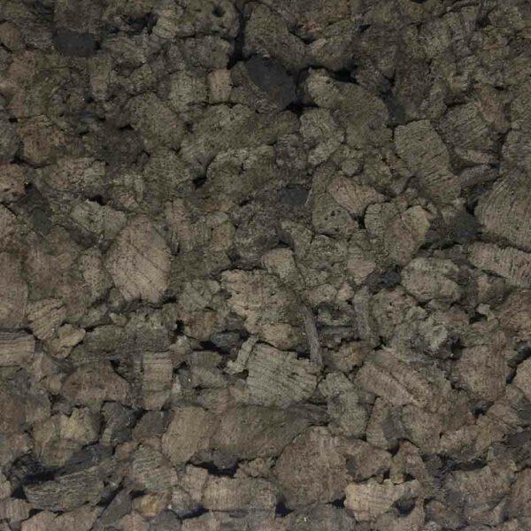 Агломерированная пробковая плита черная, 25 мм