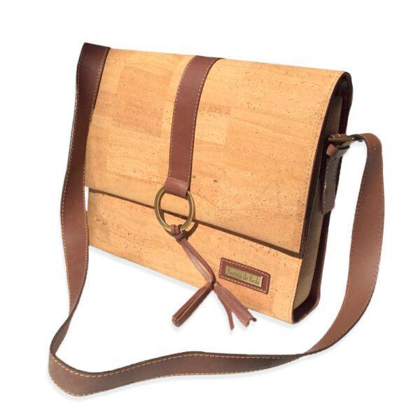 сумка из пробкового текстиля и кожи недорого картинка